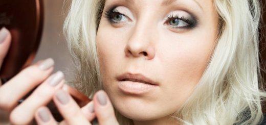 дневной макияж для серых глаз пошаговое фото