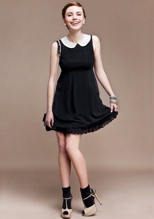 Черные Платья С Кружевами