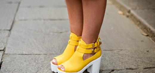Модные туфли тракторы фото