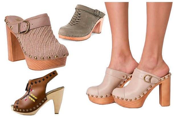 Модная обувь мюли фото