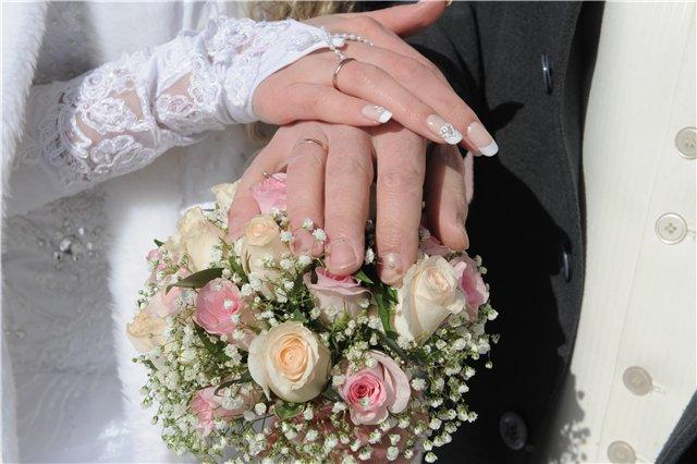 маникюр на свадьбу невесте фото