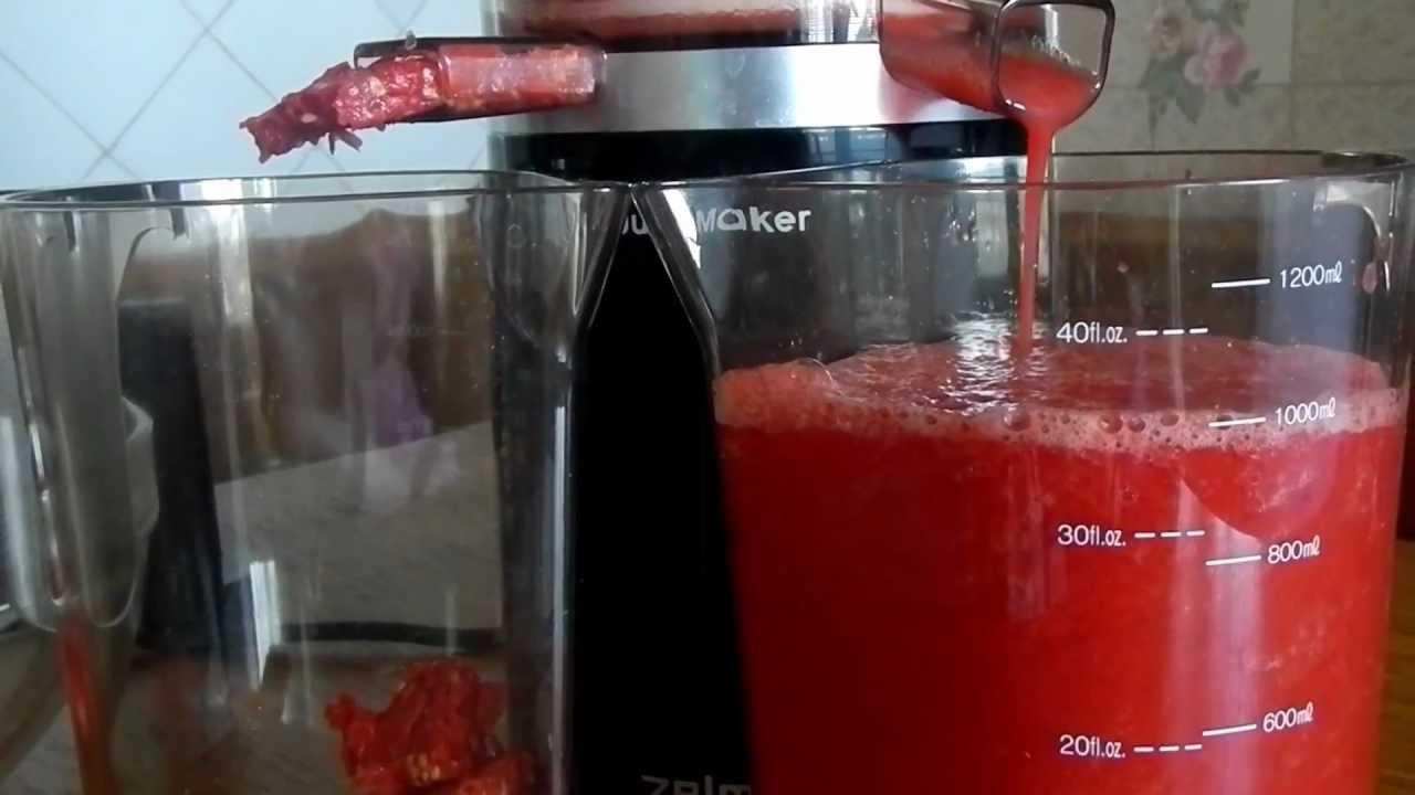 Томатная сок в домашних условиях рецепт