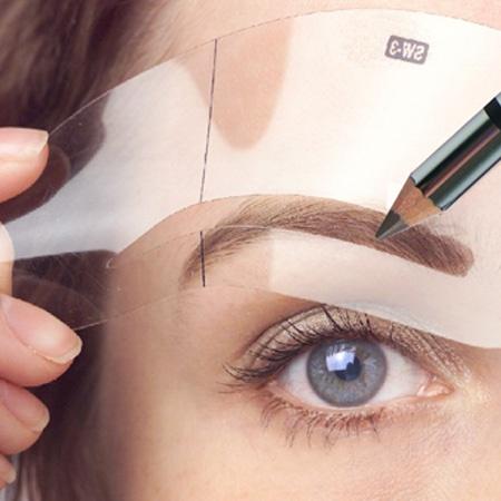 Как сделать макияж бровей