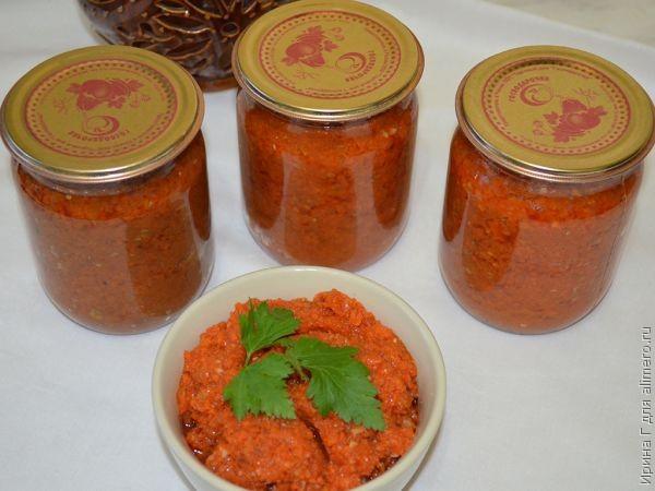 Икра из морковки на зиму рецепты с фото