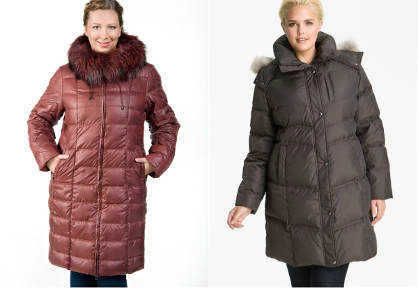 куртки для полных женщин фото