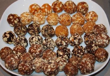 Как сделать конфеты с сухофруктами 325