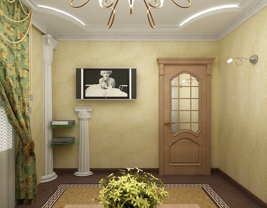 Колонны в квартире фото