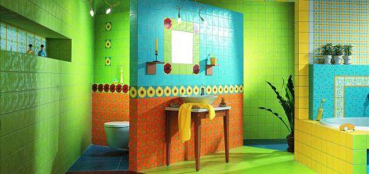 керамическая плитка для ванной дизайн фото