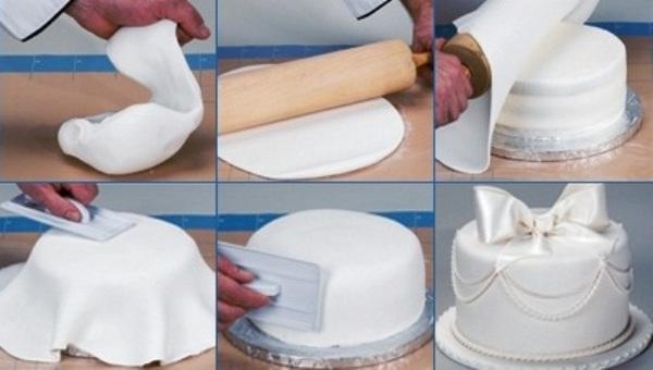 Торт с мастикой фото своими руками