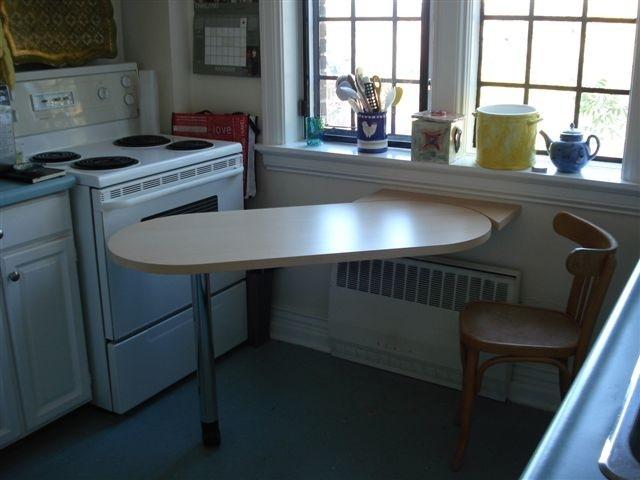 Как выбрать кухонные столы и стулья для маленькой кухни фело.