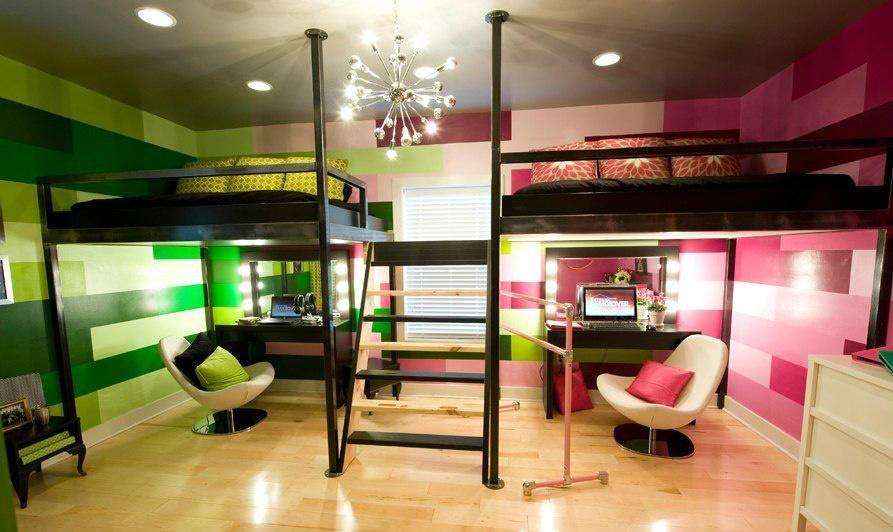 Идеи для детской комнаты для двоих детей