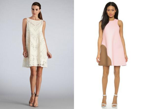 Мода платья трапеция