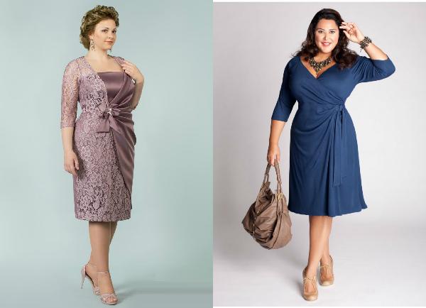 Платье для женщин старше 45