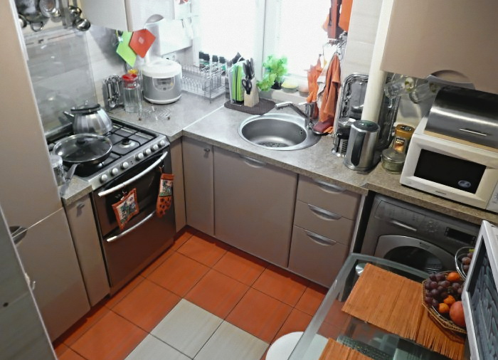 Кухня 3 кв метров дизайн фото