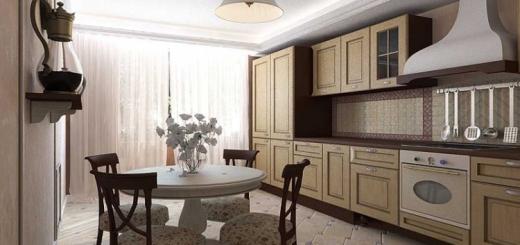 интерьер кухни в стиле современная классика фото