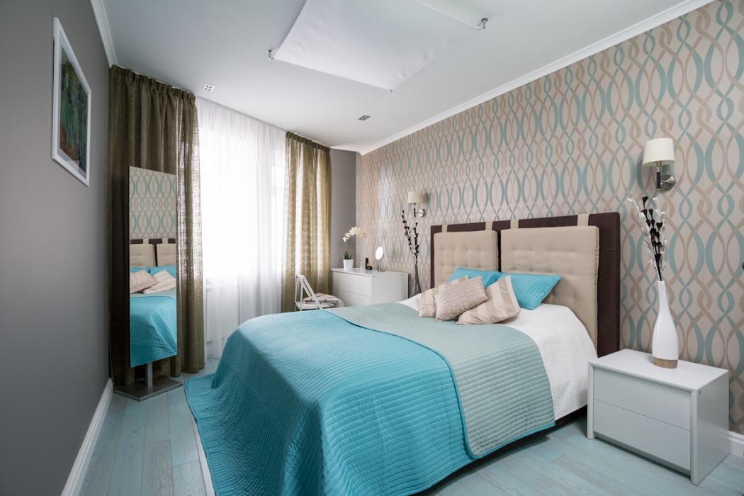 Дизайн маленькой спальни 13 кв.м фото
