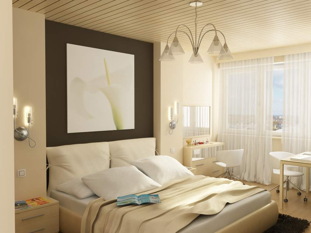 Дизайны спальных комнат 12 кв.м