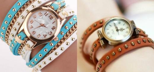 модные часы женские 2016 фото
