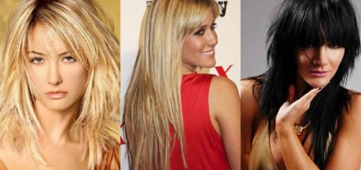 модные женские стрижки 2016 на длинные волосы с челкой фото