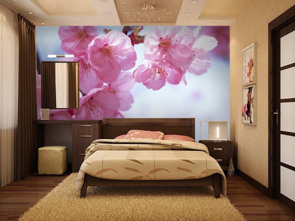 Фотообои для спальни 3д фото