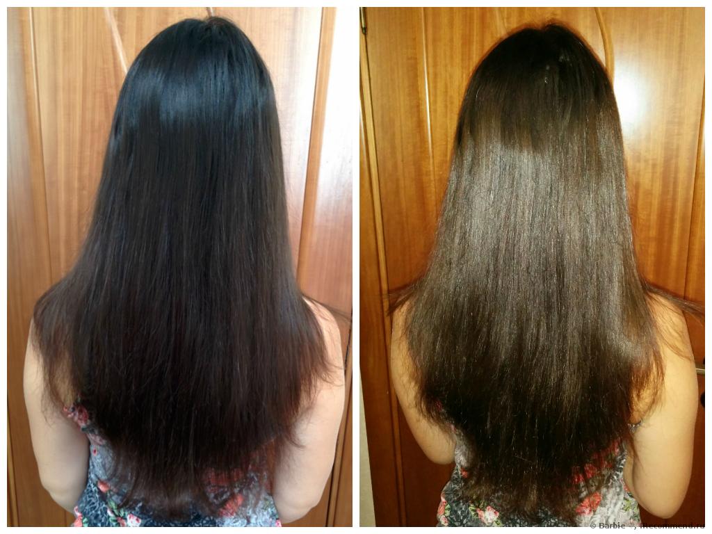 Как сделать смывку для темных волос 402