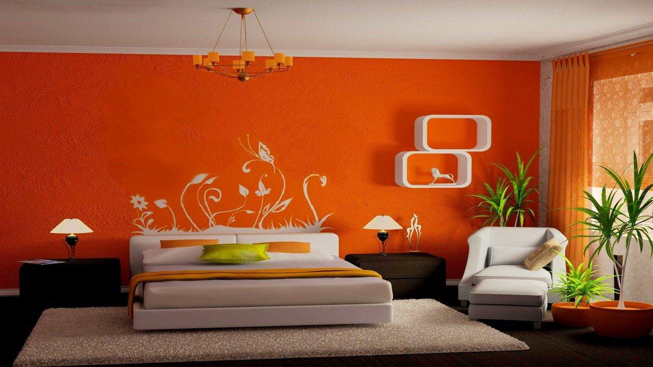 Идеи покраски обоев в 2 цвета фото