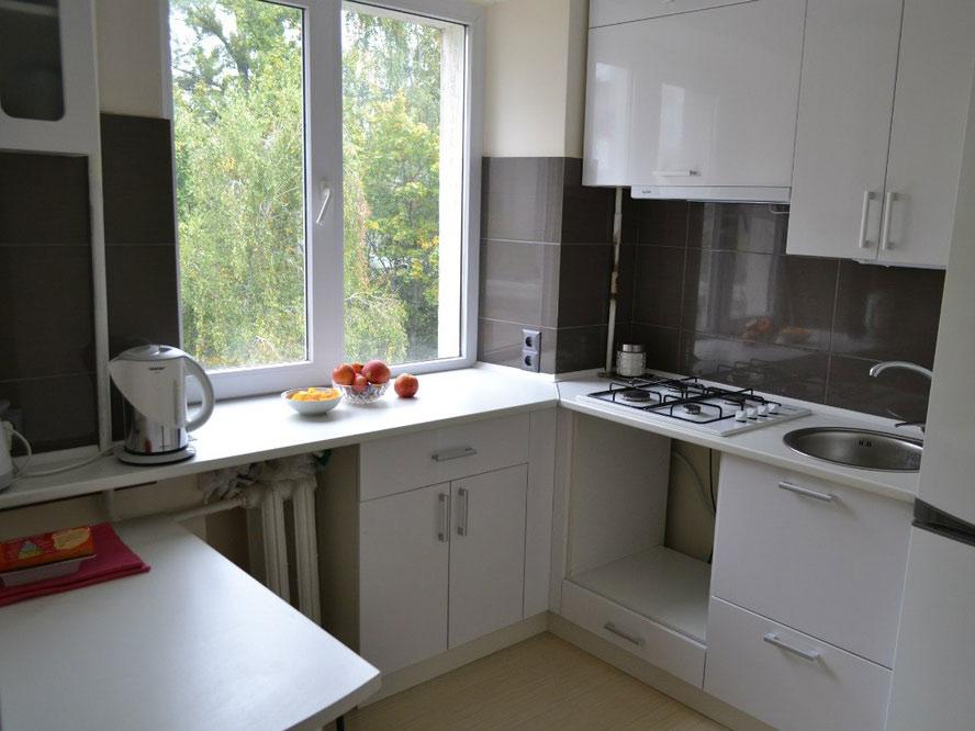 дизайн маленькой кухни 5-6 метров в хрущёвке