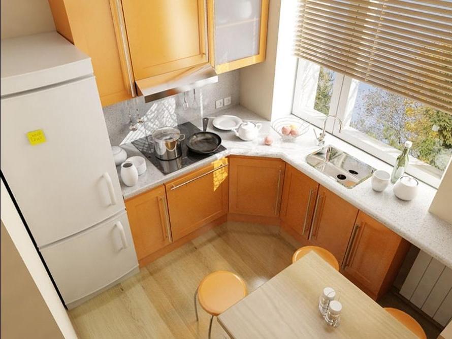 Кухонный дизайн для хрущевки