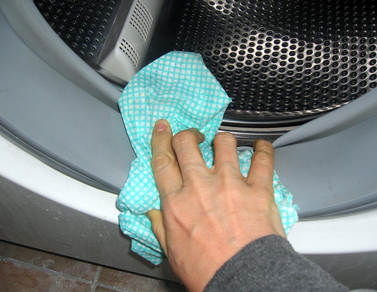 как почистить стиральную машину от накипи в домашних условиях