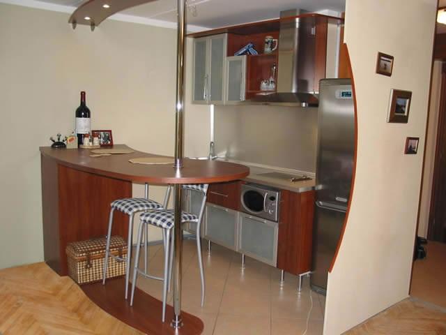 Барная стойка для кухни фото как сделать