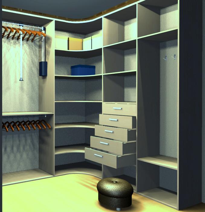 Как сделать гардеробную своими руками в комнате