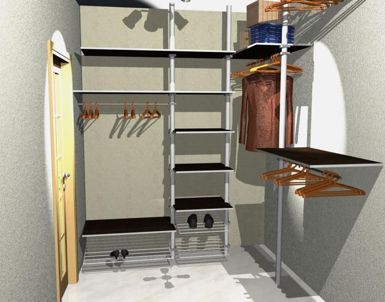 Гардеробные комнаты проекты своими руками фото6