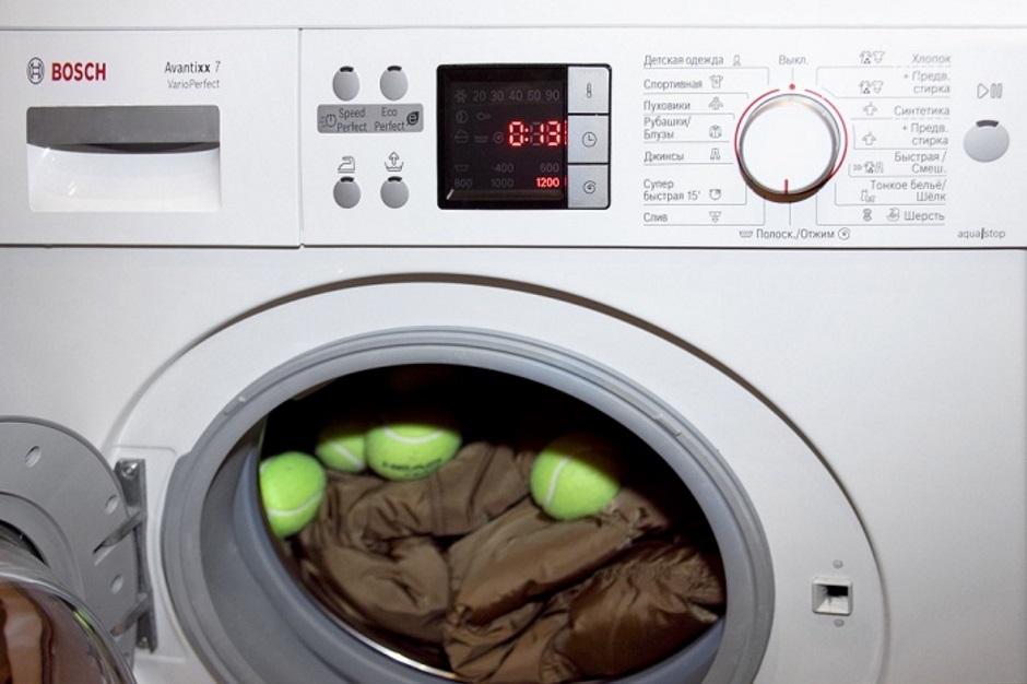 как стирать пуховики в стиральной машине автомат