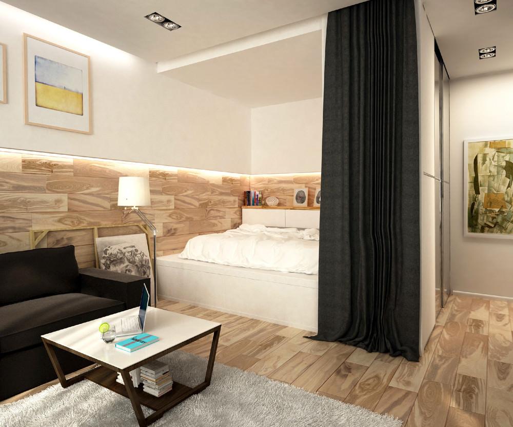 Дизайн квартиры с нишей фото