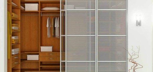 гардеробные комнаты маленьких размеров фото