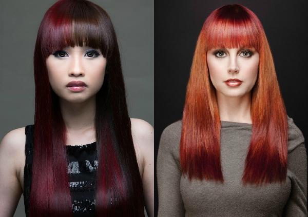 покраска волос в стиле гранж