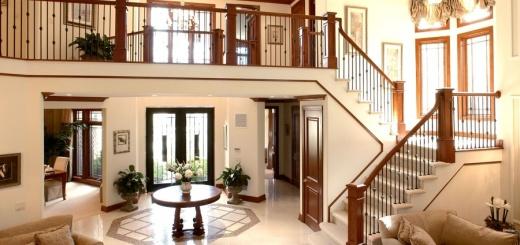 лестницы в частном доме на второй этаж фото