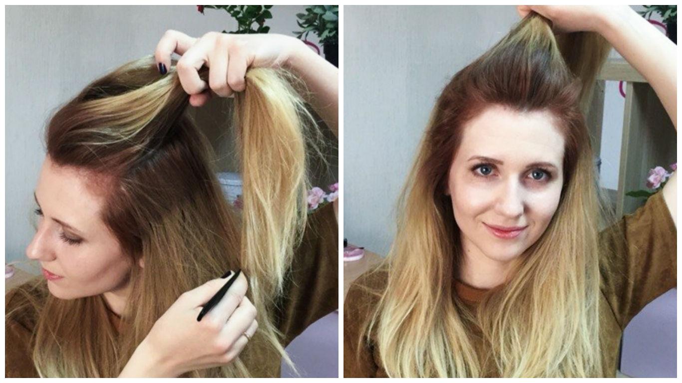 Укладки волос пошаговая инструкция