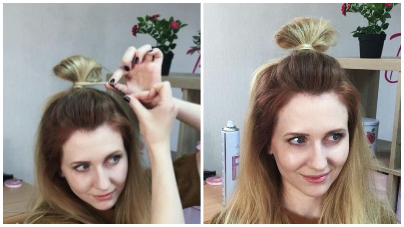 Прически когда мало волос