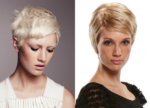 Стрижка пикси на короткие тонкие волосы для женщин за 40