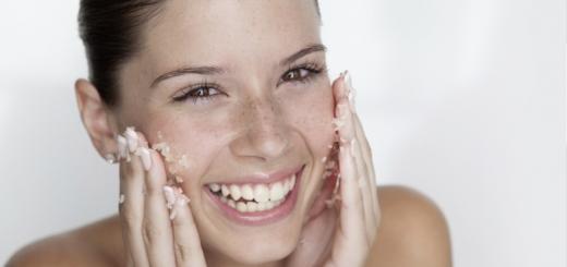 скраб для лица в домашних условиях для сухой кожи