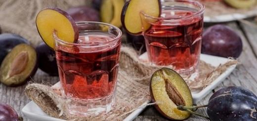 наливка из сливы в домашних условиях рецепт на водке