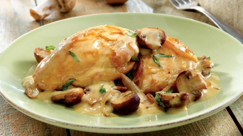 филе в сливочном соусе на сковороде рецепт