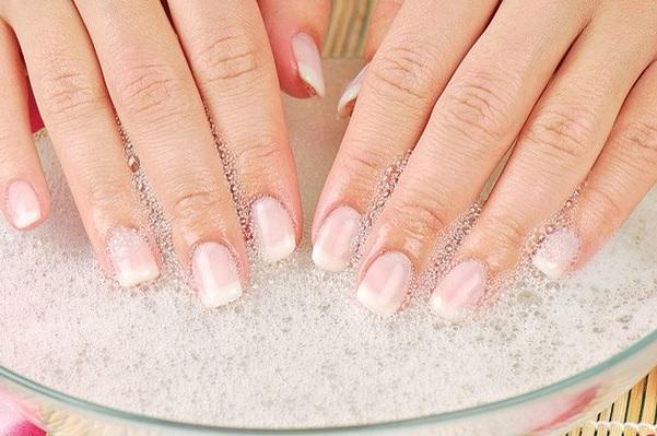 Чтобы ногти были длинными в домашних условиях