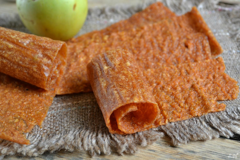 Рецепт яблочной пастилы в домашних условиях с фото