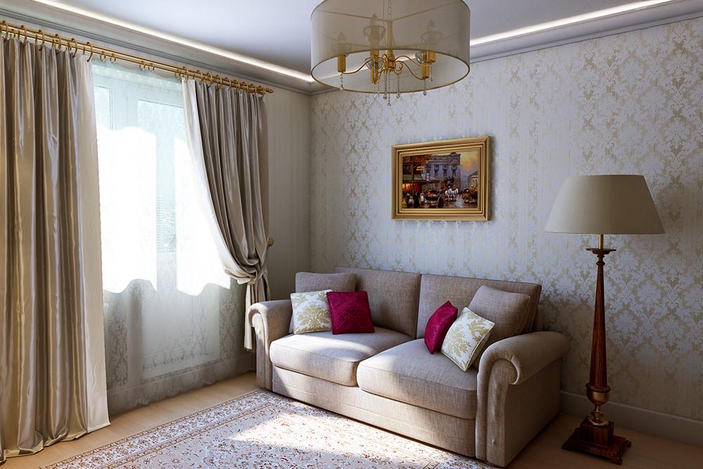 Гостинные комнаты дизайн