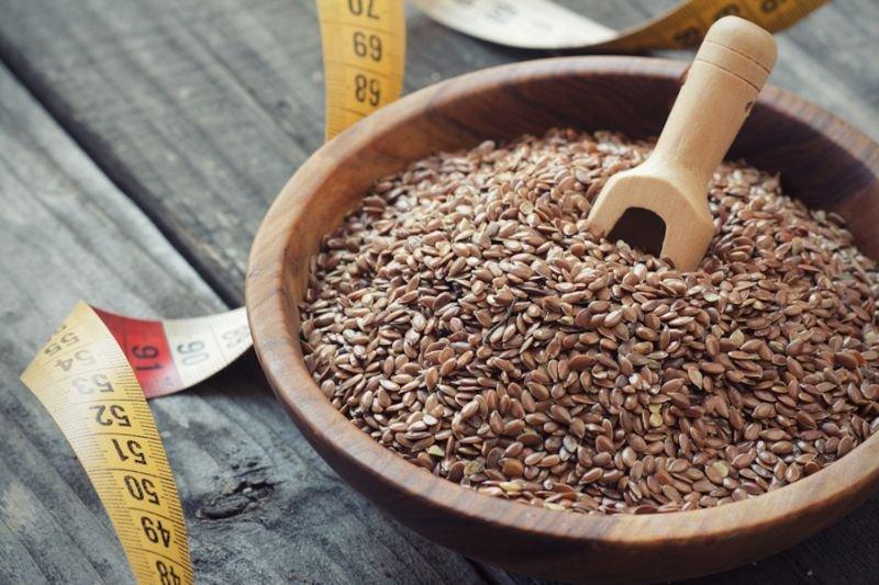 семена льна для очищения кишечника от паразитов