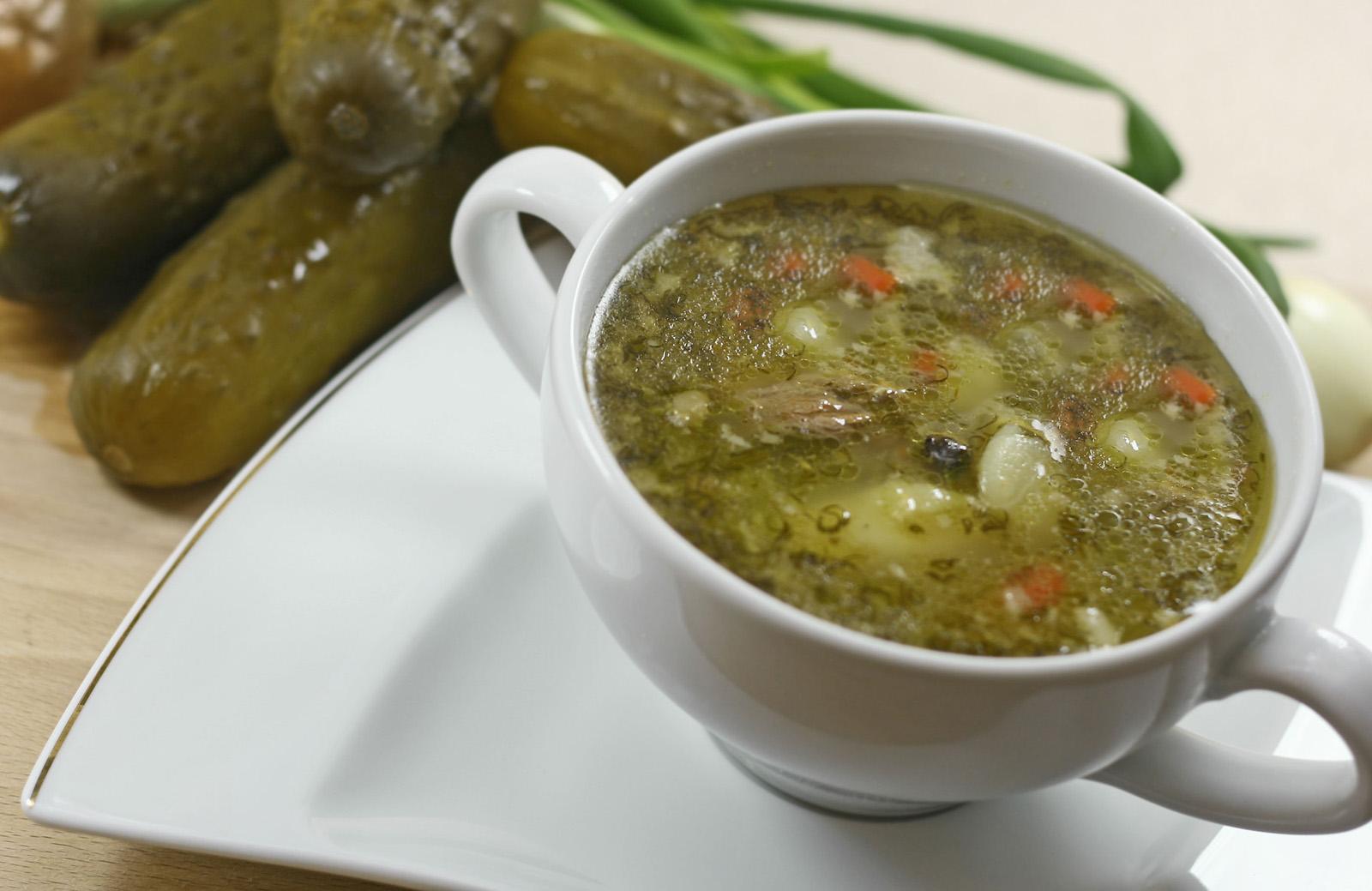 Рецепт супа рассольник с перловкой