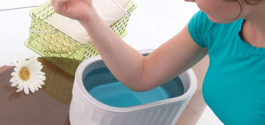 как отбелить локти в домашних условиях быстро