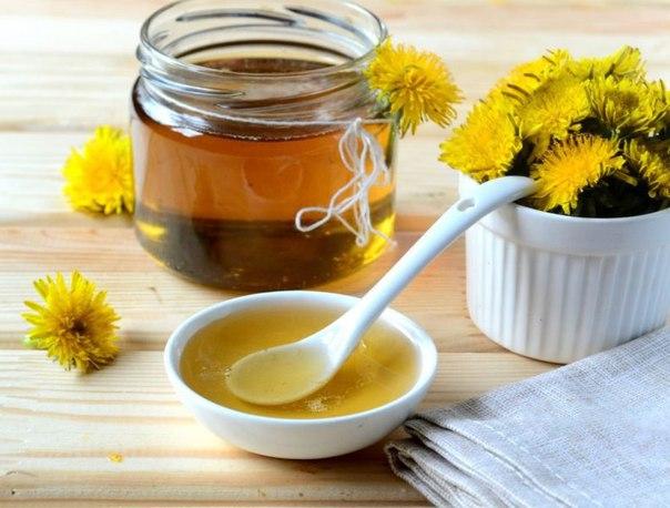 мёд из одуванчиков рецепт приготовления